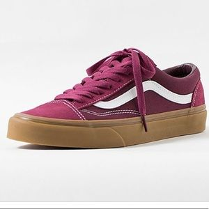 vans style 36 gum beet red port royale shoes